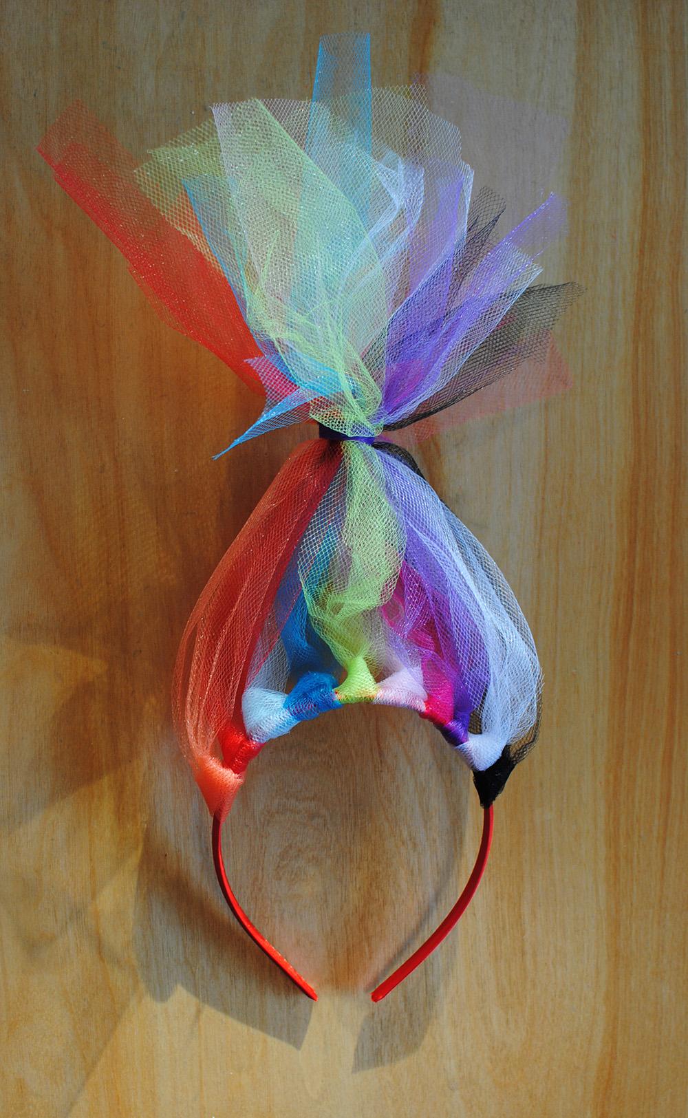 DIY Troll Headbands Part 2 Easy Craft And Sew