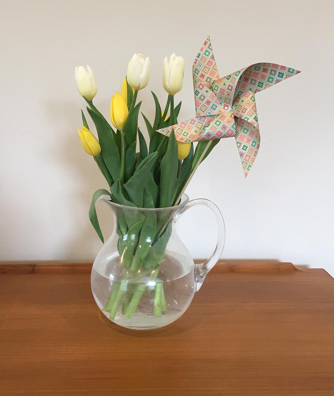 DIY paper pinwheels - Easy Craft and Sew