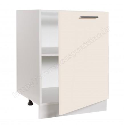 meuble bas cuisine sous evier 60 cm pas