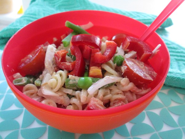 pastasalade met tonijn