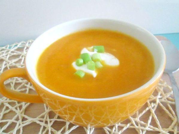 wortel ricotta soep