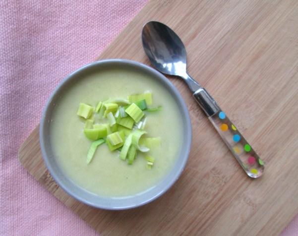 makkelijke prei soep
