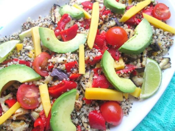frisse quinoa salade