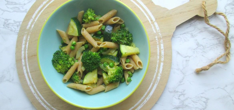 makkelijke groene pasta