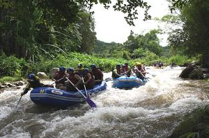 Khao Lak ATV & Wildwasser Rafting Adventure