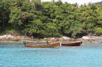 Long Tail Boats at Raya Yai Island