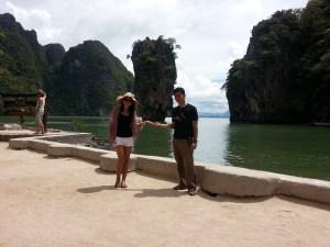 Visit at James Bond Island during a Private Khao Lak Phang Nga Bay Tour