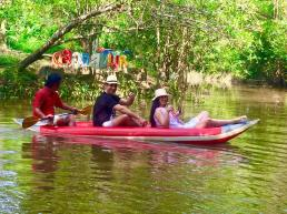 Kayaking at Little Amazon, Takuapa