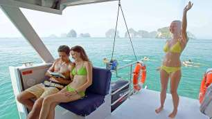 Hong Island Tour - Comfortable Catamaran