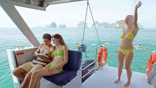 Hong Island Tour - Comfortable Catamaran