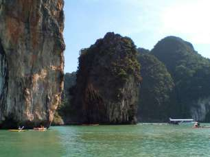 Phang Nga Bay Caves & Sea Canoe - Panak Island