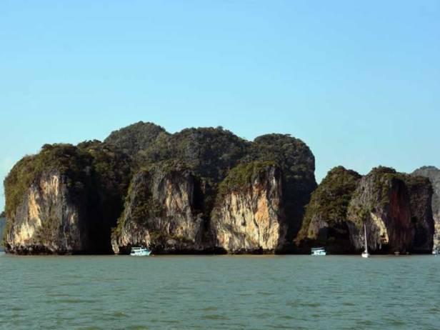 Khao Lak Phang-Nga-Bay-Caves-Sea-Canoe-Panak-Limestone-Island