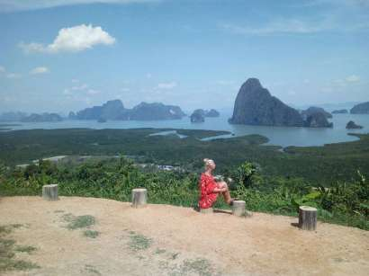 Phang Nga Bay Caves & Sea Canoe - Samet Nangshe View Point