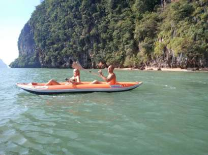 Phang Nga Bay Caves & Sea Canoe - Self Paddle