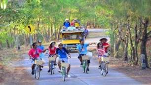 Koh Yao Noi Tours - Biking on the island