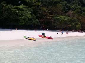 Monkeys Beach in Phi Phi