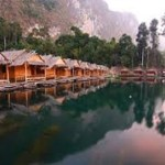 Khao Sok Safari - Übernachtung im Raft House