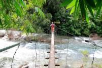cross the river at Kapong