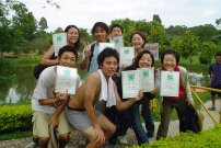 Phuket Bungy Jump certificate