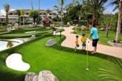 Boys playing Phuket Mini Golf