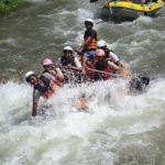 Rafting sulle rapide nella provincia di Phang Nga