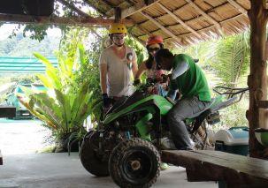ATV Lesson in Phang Nga