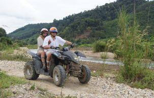 ATV Tour along the river