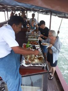 Lunch Time - June bahtra Phang Nga Bay Cruise