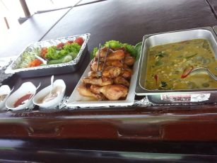Thai Buffet - June bahtra Phang Nga Bay cruise