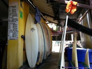 Surf Shop at Kata Beach Phuket, Thailand