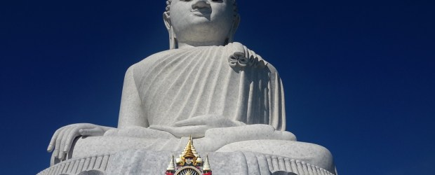 Big Buddha Phuket lige forfra