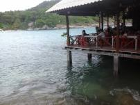 Raya resort restaurant at Racha Yai Island - Early Bird Snorkeling Tour from Phuket, Thailand