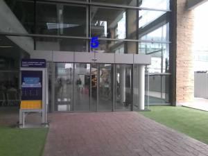 Phuket International Flughafen- Ankunft Gate 5