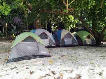 Surin Islands Overnight Tents