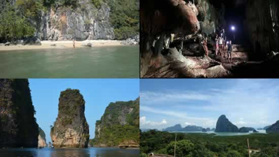 Hong Island Tour into Phang Nga Bay