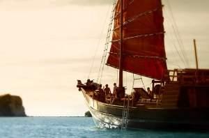 """Koh Phangan Ausflug - mit der """"Chantara"""""""