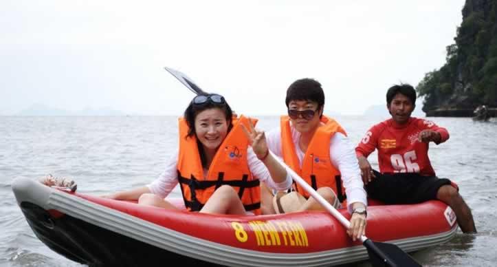 Krabi Phang Nga Bay Sea Canoe Adventure