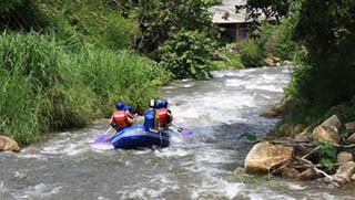 Krabi Activities - White Water Rafting