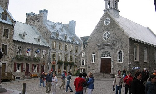 Place Royale in Quebec City