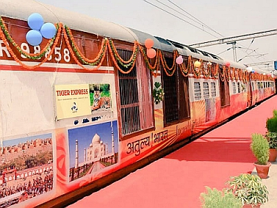 Indian Railways Launches First Wildlife Tourism Train