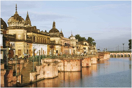 Tourism Minister Visits Ayodhya To Set Up Ramayana Museum