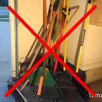 Garden Tools: How to store and organize. DIY and kits.