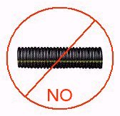 flexible plastic drain pipe do not