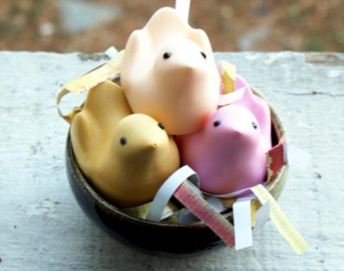 Cool DIY Ideas Easter Peeps Soap