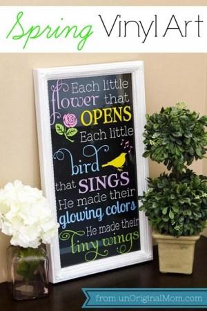 DIY Spring Home Decoration