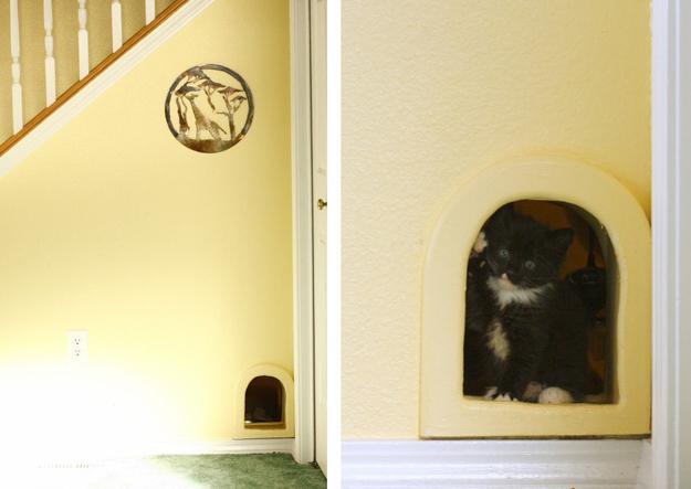 DIY tips to hide a pet litter box