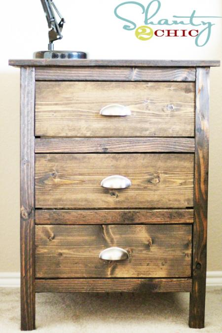 Awesome Diy Wooden Nightstand Easy Diy And Crafts