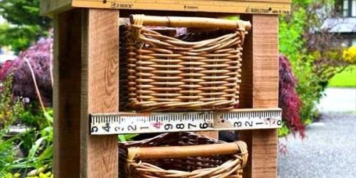 Easy DIY wooden Nightstand