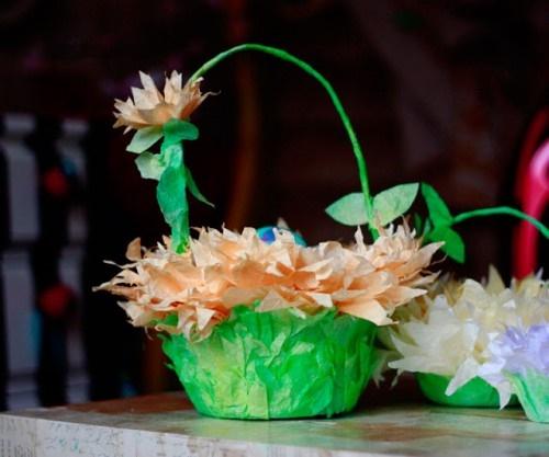 Easter Egg Basket DIY Ideas