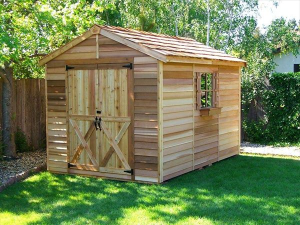How to make a pallet house